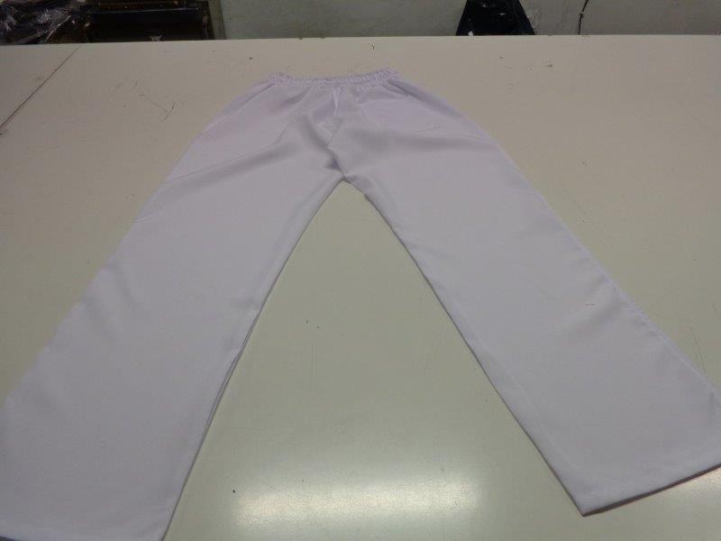 Calça de uniforme masculino