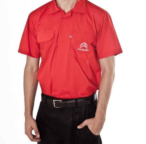 Camisa social para uniforme  Camisa social para uniforme ... 66de658941eae