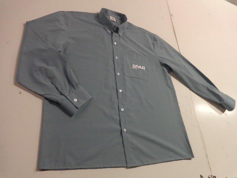Camisa social uniforme sp - 7 Point 7f55287a3c127