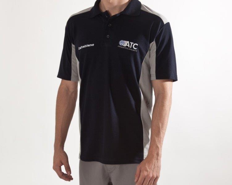 Camiseta polo lisa para uniforme